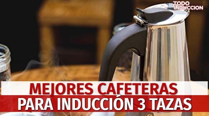 Cafetera para Inducción 3 Tazas