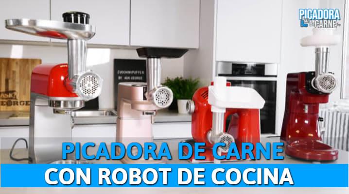 Picadora de Carne con Robot de Cocina