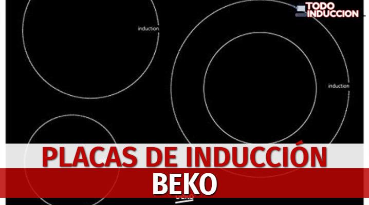 Placas de Inducción Beko