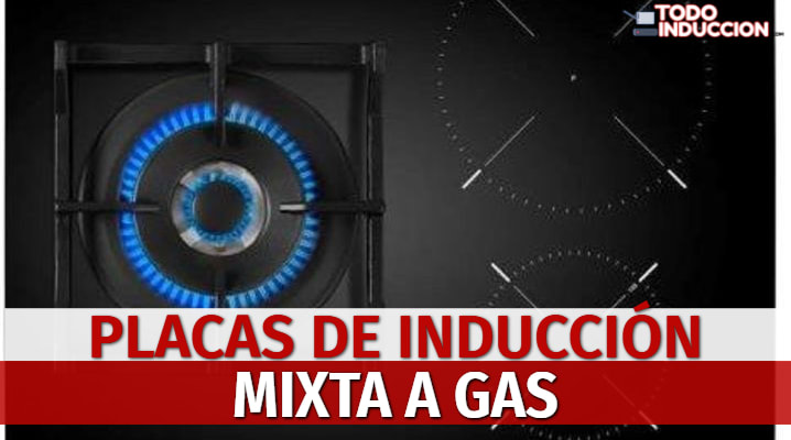 Placas de Inducción Mixta a Gas