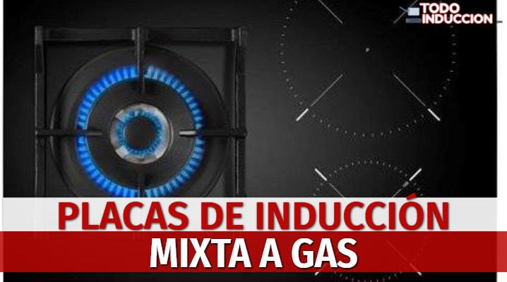 Placas de Inducción Mixta a Gas